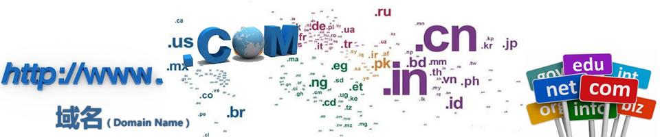 域名大全_域名后缀_全世界有多少种域名?