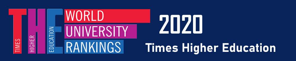 2020年泰晤士报世界大学排名_2020年THE世界大学排名